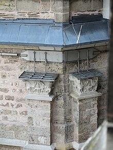 Ringanker Am Karolingischen Oktogon Des Aachener Doms, Der Nachträglich  Angebracht Wurde, Um Die Außenmauern Gegen Die Schubkräfte Der Kuppel Zu  Sichern