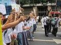 Rio+20 demonstration keep silent 2.JPG