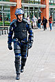 Riot Policeman in Piccadilly Gardens, Manchester.jpg