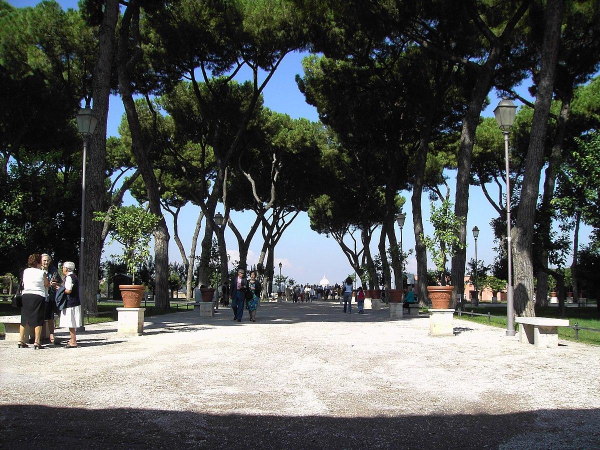 Rome aventino testaccio travel guide at wikivoyage - Giardino degli aranci frattamaggiore ...
