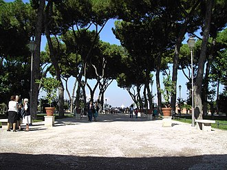 Orange Garden, Rome - Image: Ripa giardino degli aranci 01