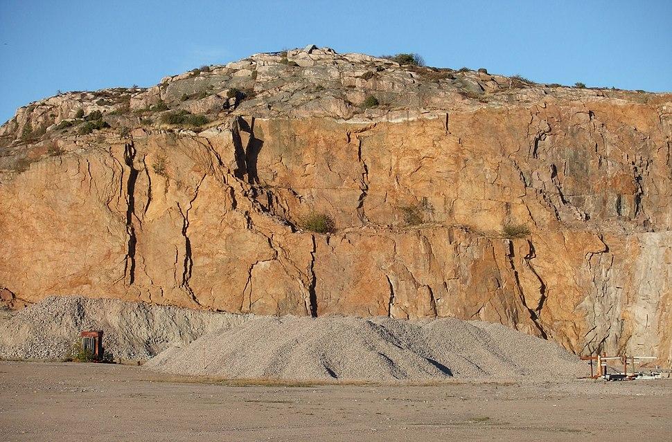 Rixö granitbrott 4