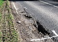 Road Damage to the B489 following frosty weather - geograph.org.uk - 1221740.jpg