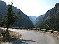 Road down the Kadisha (Holy) Valley, Lebanon.jpg
