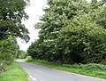 Road north of Croome Landscape Park - geograph.org.uk - 937678.jpg