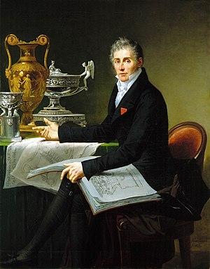 Jean-Baptiste-Claude Odiot - Jean-Baptiste Odiot by Robert Lefèvre, 1822