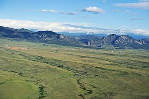 Rocky Flats National Wildlife Refuge - Rocky Flats National Wildlife Refuge covers over 5,000 acres, including these open plains.