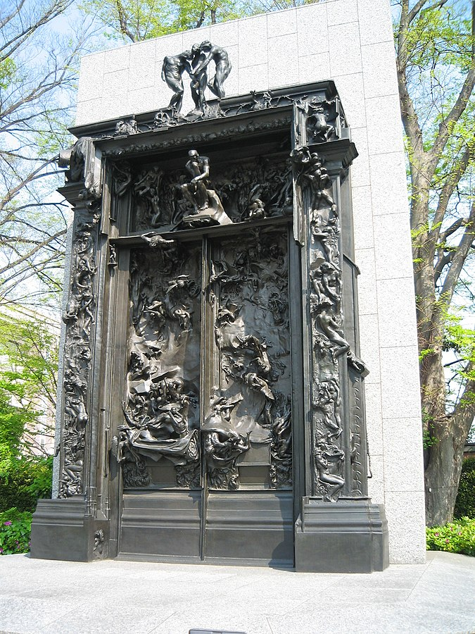 The National Museum of Western Art in Ueno Park Tokyo. & The Gates of Hell - Wikiwand