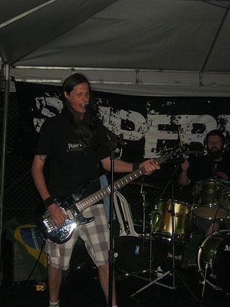 Rogener Pavinski - Rogener performing with Supernova