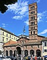 Roma, basilica di Santa Maria in Cosmedin - Facciata.jpg