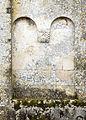 Romanesque detail Church Saint Sulpitius Marignac Charente Maritime.jpg