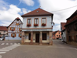 The town hall in Romanswiller
