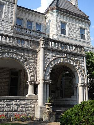 Philadelphia Ronald McDonald House - Building entrance.