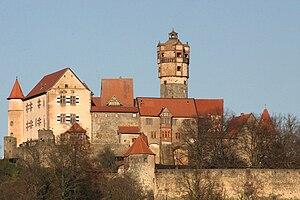 Die Ronneburg, Ansicht von Süden