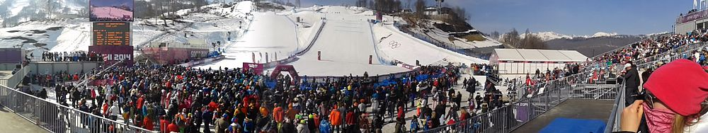 Rosa Khutor Extreme Park at the 2014 Winter Olympics