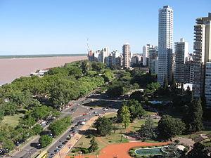 Rosario y el Parana
