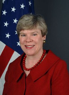 Rose Gottemoeller United States Under Secretary for Arms Control and International Security, and Assistant Secretary of State for Verification, Compliance, and Implementation