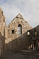 Ross Friary Refectory and Dormitory North Gable 2010 09 14.jpg