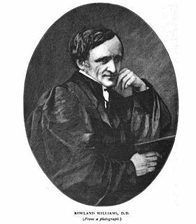 Rowland Williams (priest) Welsh Anglican priest