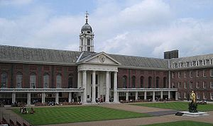 Chelsea, London - Figure Court of Royal Hospital Chelsea