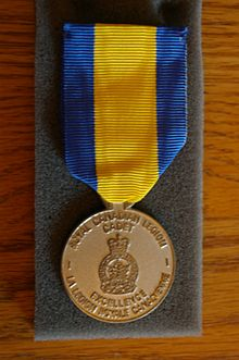 Royal Canadian Legion Cadet Medal of Excellence
