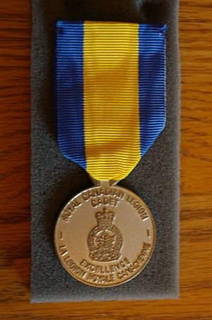 Royal Canadian Legion - Royal Canadian Legion Cadet Medal of Excellence