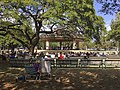 Royal Hawaiian Band performance at the bandstand in Kapiolani Park. (26356009045).jpg