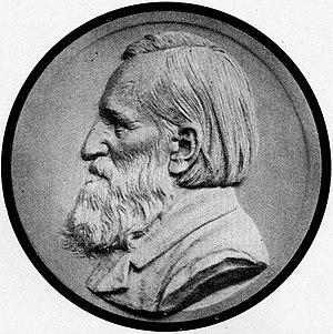 Rudolf Hildebrand - Rudolf Hildebrand, grave relief by sculptor Carl Seffner