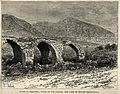 Ruins of an aqueduct on the plain of Jordan, and a view of M Wellcome V0020149.jpg