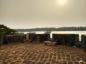 Sultan Battery (Mangalore) - Top view