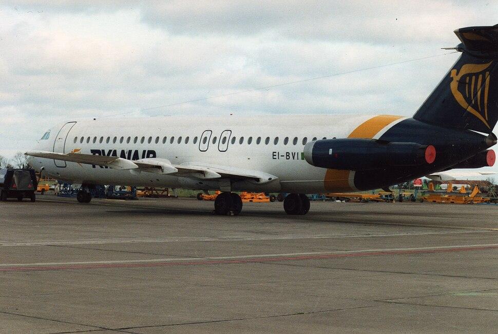 Ryanair (EI-BVI), Dublin, February 1993