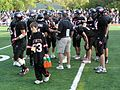Rye H.S. Football Team During Timeout 2006.jpg