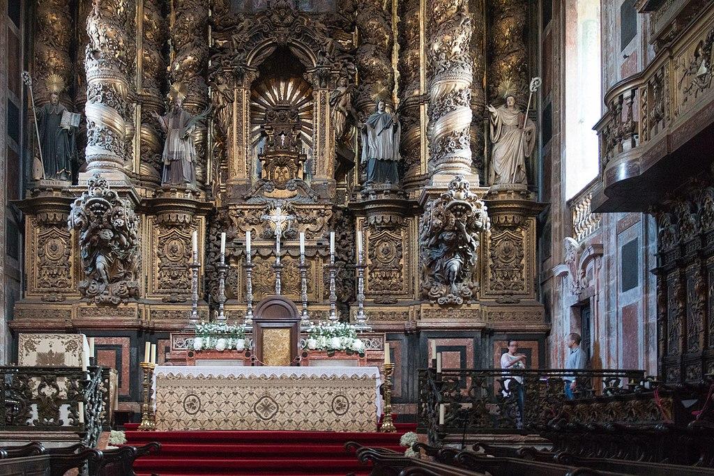 Autel de la cathédrale de Porto - Photo de Daniel Villafruela.