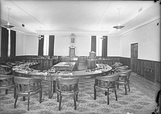 Mosman Council - Mosman Council Chambers in February 1940 by Sam Hood.