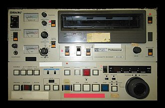 U-matic - Sony U-matic VTR BVU-800