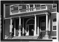 SOUTH FRONT, FIRST FLOOR, DETAIL OF PORTICO - Custom House and Public Stores, 178 Derby Street, Salem, Essex County, MA HABS MASS,5-SAL,48-3.tif