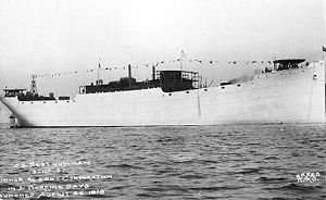 SS West Humhaw after launch
