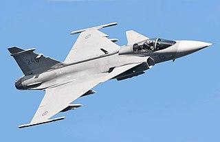 Saab JAS 39 Gripen Light single-engined multirole fighter aircraft
