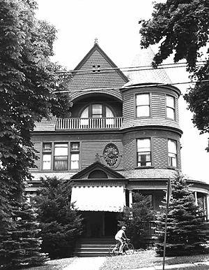Sackville House - The Sackville House circa 1980, prior to its demolition