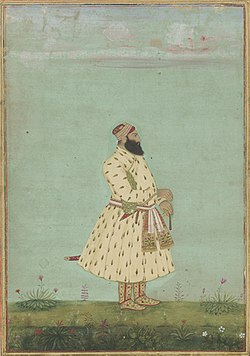 Safdarjung, second Nawab of Awadh, Mughal dynasty. India. early 18th century.jpg