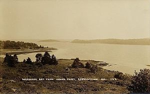 Georgetown, Maine - Sagadahoc Bay c. 1915
