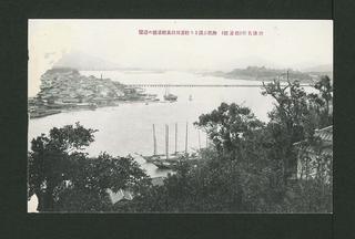 View of the Matsura-gawa river from the Maizuru Park