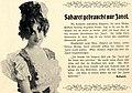 Saharet gebraucht nur Javol, 1901.jpg