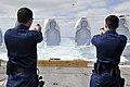 Sailors fire M9 pistols at sea. (8516135740).jpg