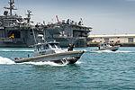 Sailors patrol NSA Bahrain. (25935972614).jpg