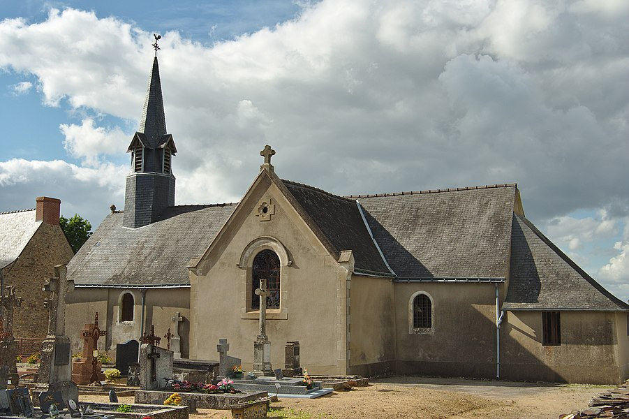 Église de Saint-Erblon.