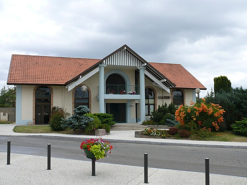 The townhall of Saint-Pandelon (Landes, Pyrénées-Atlantiques, France).