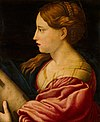 Saint Barbara after Parmigianino Mauritshuis 354.jpg
