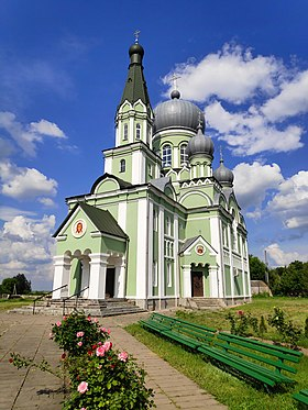 Saint Trinity ortodoxal church in Dostoevo, Brest region, Belarus.jpg