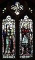 Saints Cecilia & Oswald window, St Oswald's, Bidston.jpg